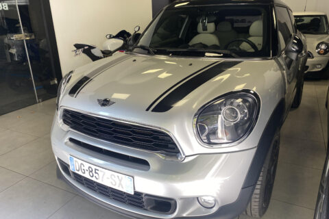 Mini Cooper SD Paceman, toit ouvrant, GPS, cuir – 123125km – 15490 €
